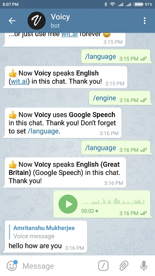 Voicy-bot