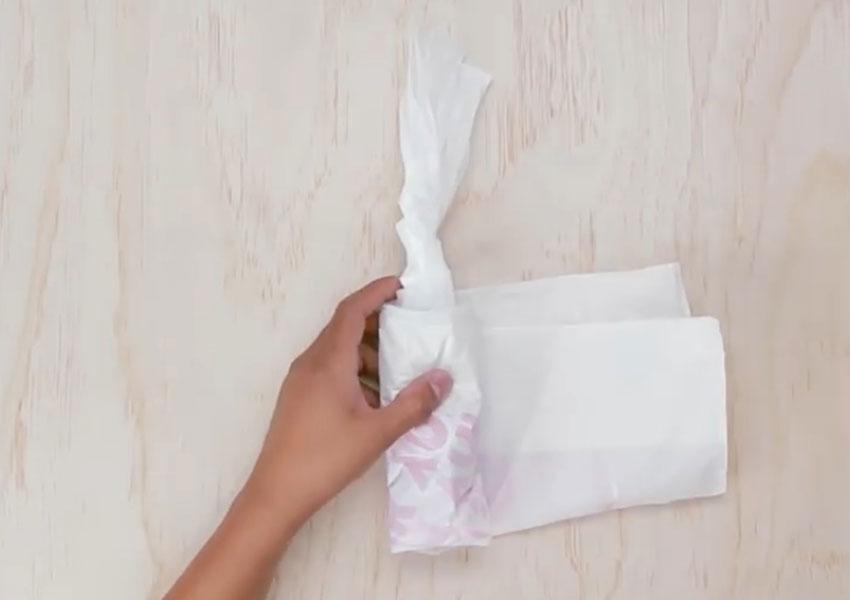 روشی جالب برای سر و سامان دادن به کیسههای پلاستیکی (تصویر 18)