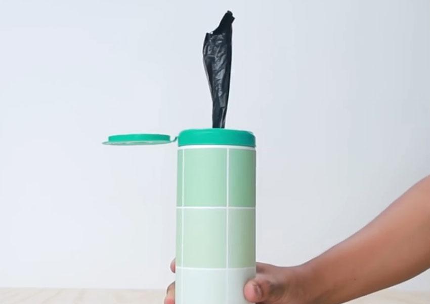 روشی جالب برای سر و سامان دادن به کیسههای پلاستیکی (تصویر 27)
