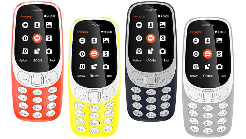 رنگهای نوکیا 3310 جدید