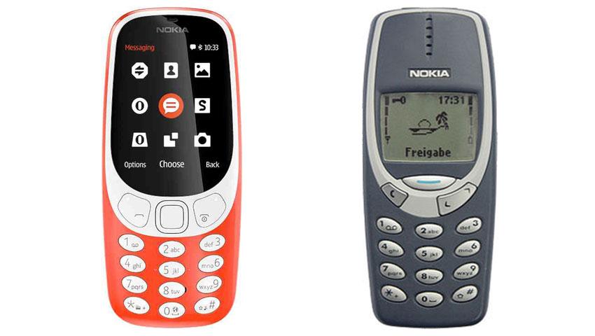 نوکیا 3310 قدیمی و جدید