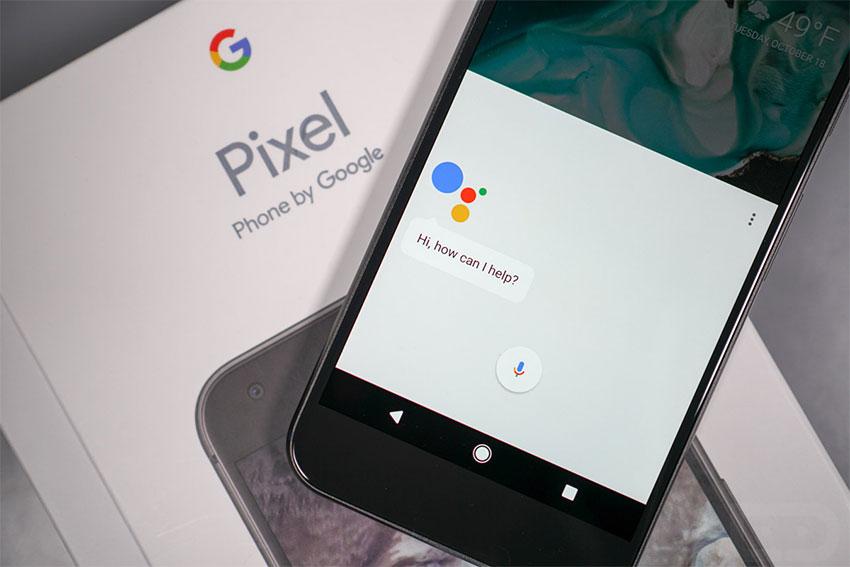دستیار گوگل در گوشی پیکسل
