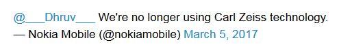 در تلفنهای همراه آینده نوکیا شاهد حضور لنزهای کارل زایس نخواهیم بود