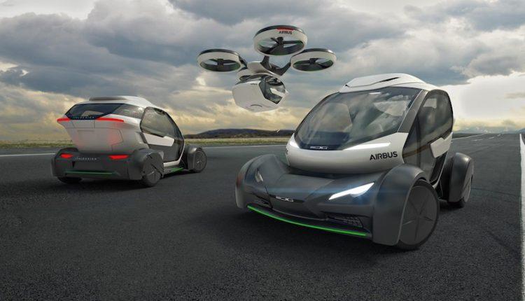 اتومبیل خودران، پهپاد و قطار؛ آینده حمل و نقل ایرباس!