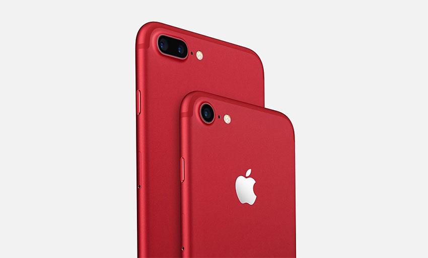 آیفون 7 قرمز