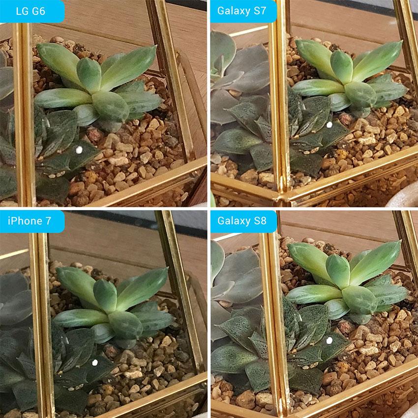 مقایسه دوربین گلکسی اس 8، گلکسی اس 7، ال جی جی 6 و آیفون 7