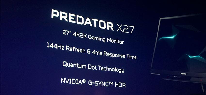 مانیتور Predator X27