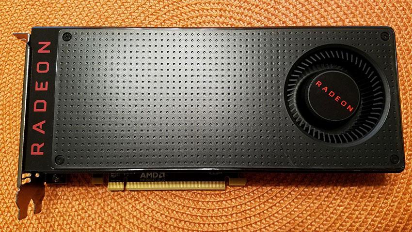 کارت گرافیک AMD RX480