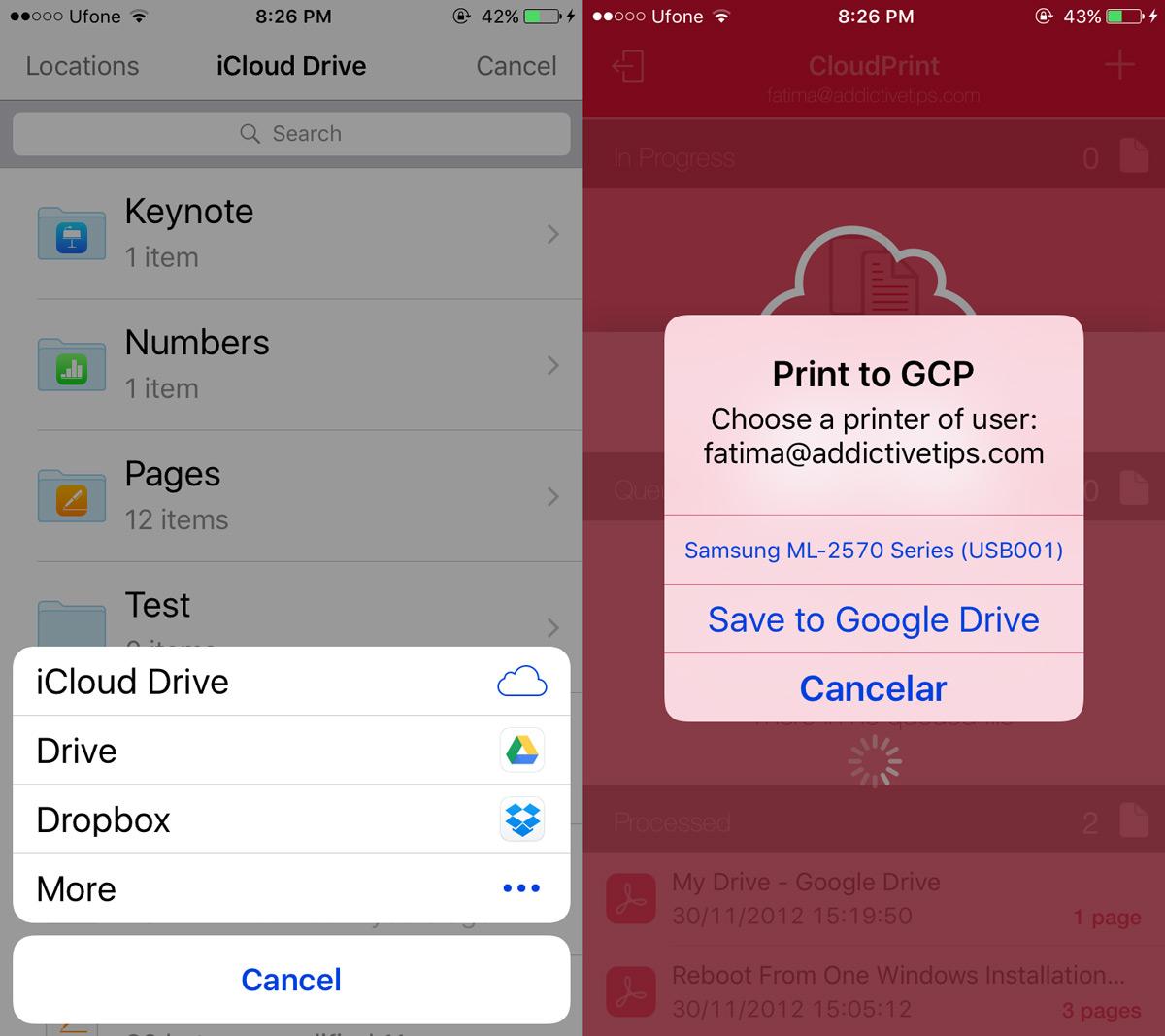 cloudprint-choose-printer