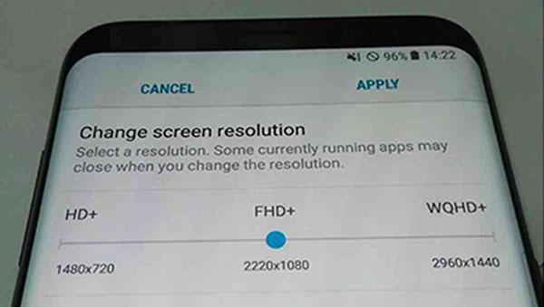 کاهش رزولوشن صفحه نمایش