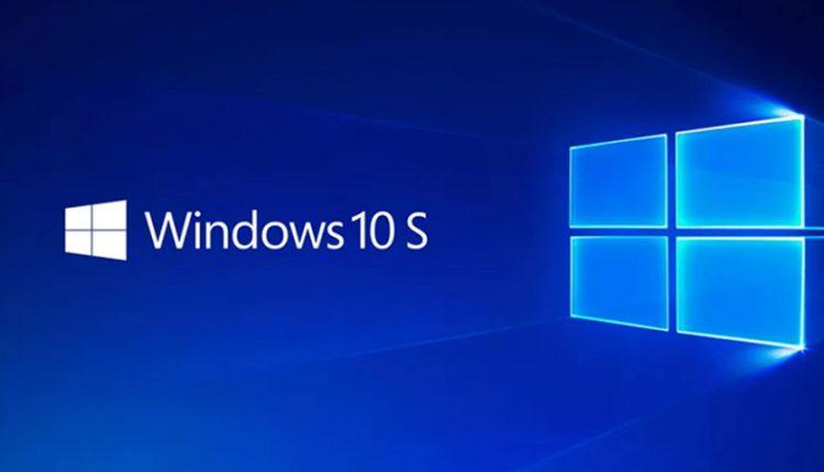 ویندوز 10 اس