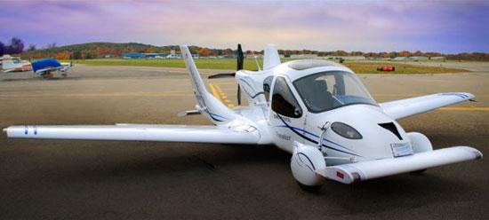 خودروی پرندهای که مانند هواپیما ساخته شده است