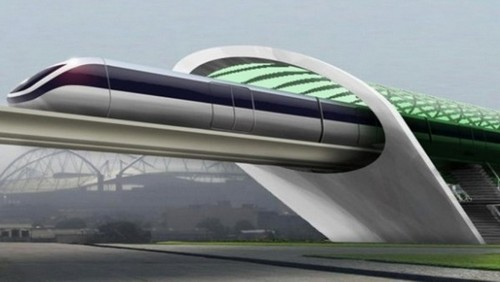 Hyperloop-Trains
