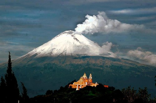Popocatépetl-Mexico