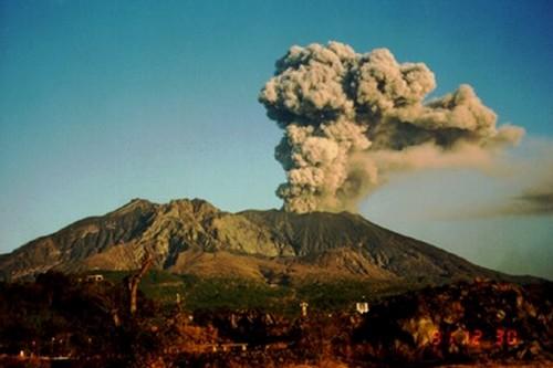 Sakurajima-Japan