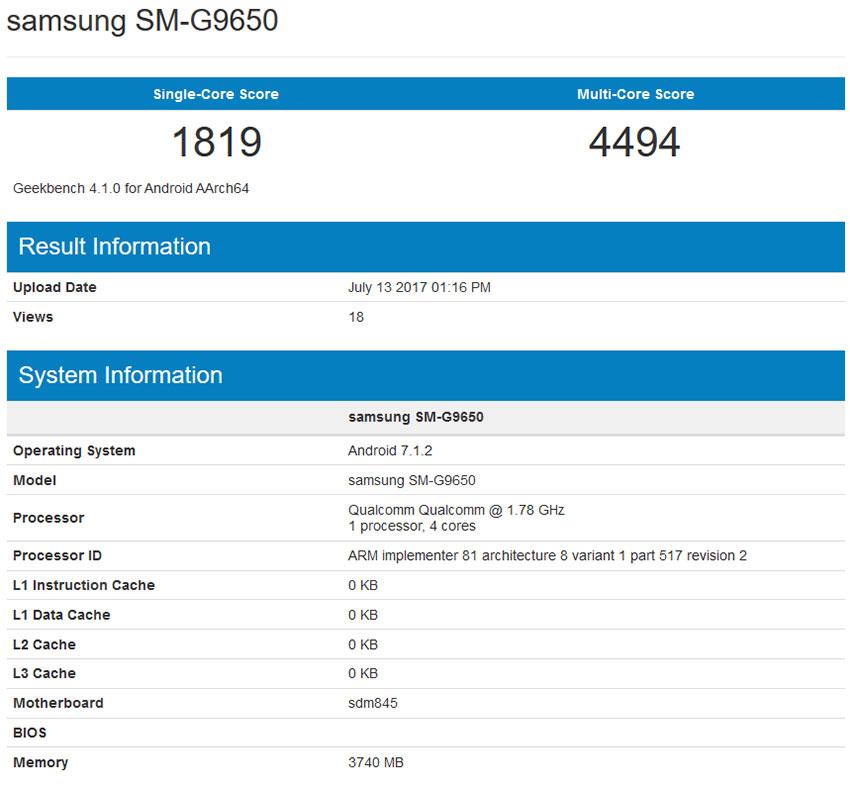 سامسونگ SM-G9650