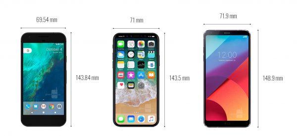 مقایسه ایفون 8 با الجی جی 6 و گوگل پیکسل- دیجی رو