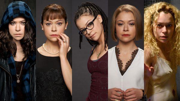 از راست:هلینا،ریچل،کاسیما،آلیسون،سارا