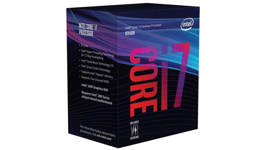 پردازنده نسل هشتم Core i7