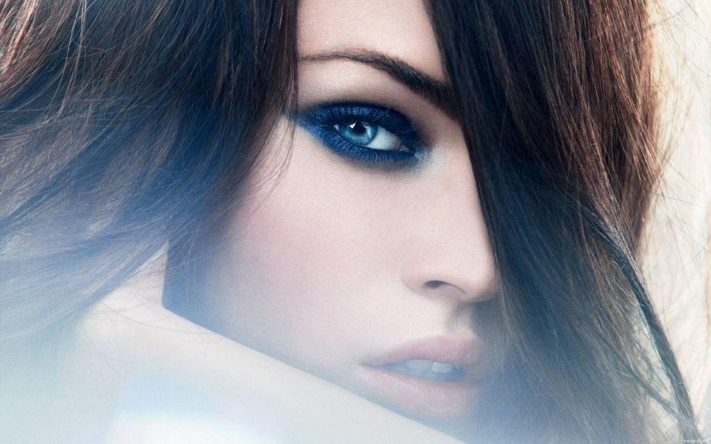Megan-Fox-And-Beautiful-Blue-Eyes