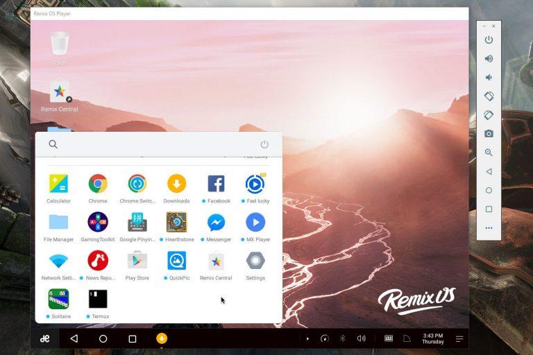 شبیه ساز اندروید Remix OS Player - دیجی رو