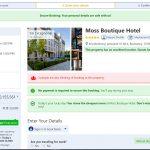 رزرو هتل در وب سایت بوکینگ