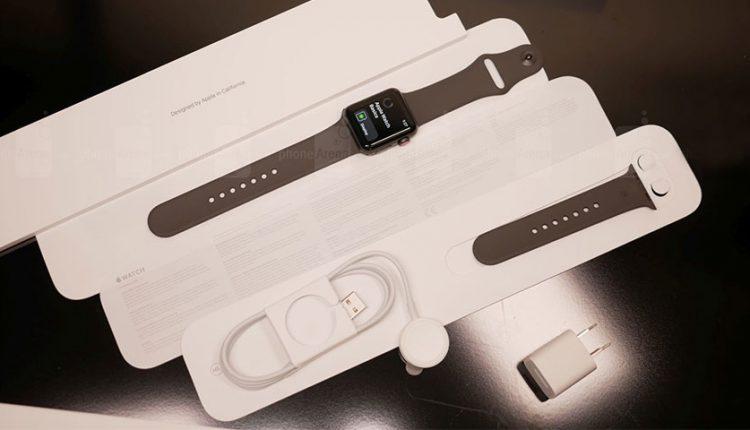 جعبه گشایی اپل واچ سری 3