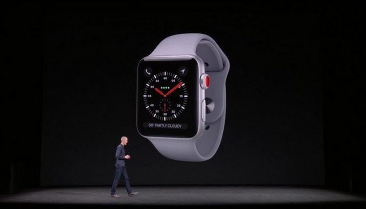اپل از ساعت هوشمند جدید خود رونمایی کرد؛ اپل واچ 3 با پشتیبانی از LTE!