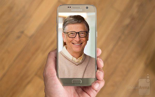 تلفن همراه بیل گیتس
