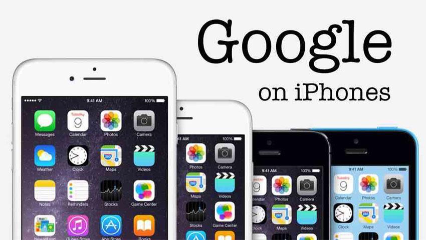 گوگل در آیفون