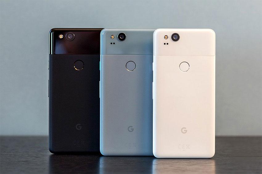 رنگبندی گوگل پیکسل 2
