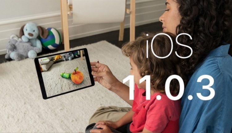 آی او اس 11.0.3 برای آیفون و آیپد منتشر شد