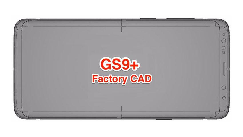 تصویر CAD گلکسی اس 9