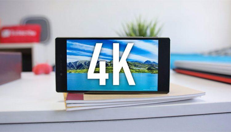 نمایشگر 4K اکسپریا