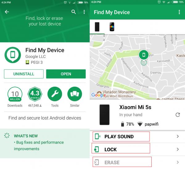 چگونه از Android Device Manager در هنگام گم شدن گوشی استفاده کنیم؟