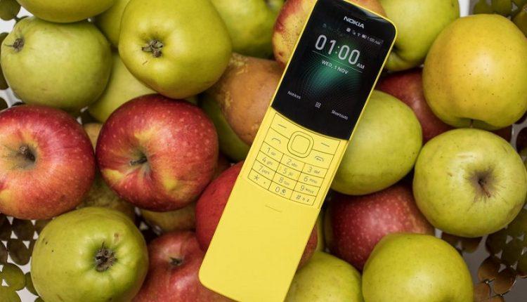 نوکیا 8110 با پشتیبانی از 4 جی معرفی شد