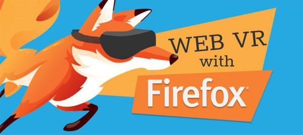 پشتیبانی از WebVR در فایرفاکس