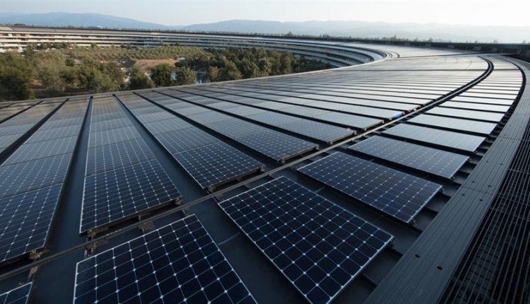 اپل به آمار ۱۰۰٪ استفاده از انرژیهای تجدیدپذیر رسید