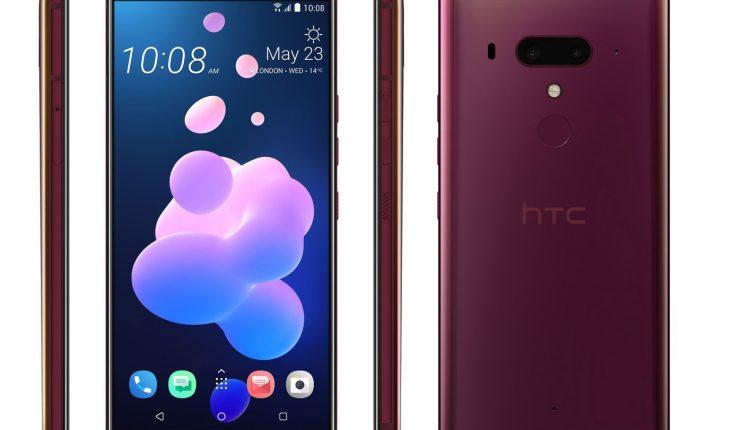 HTC U12 design press shots 2 750x430 - اچ تی سی یو 12 پلاس رسماً معرفی شد؛ یک گوشی بسیار جذاب اما با قیمت بالا