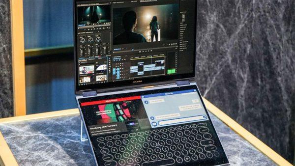 لپ تاپ دو نمایشگره ایسوس به نام Project Precog