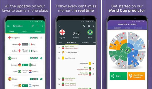 FotMob Pro World Cup 2018