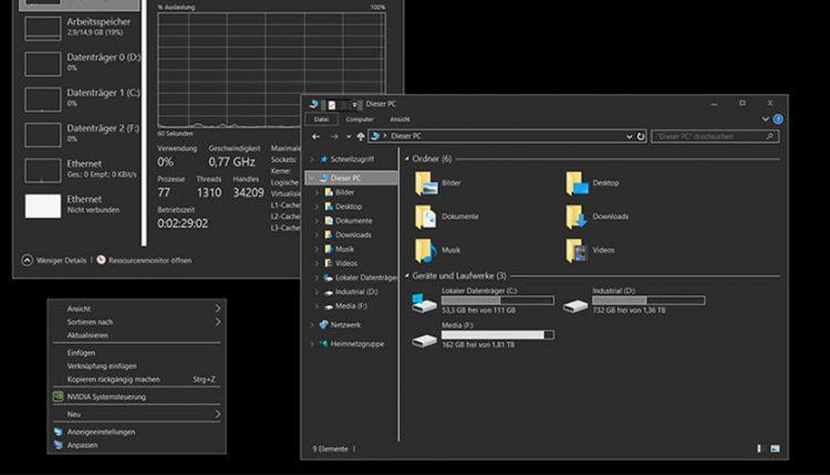 آموزش نحوه فعال کردن حالت Dark Mode در ویندوز 10