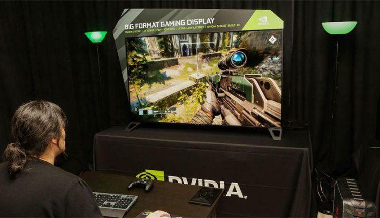 نمایشگر گیمینگ 65 اینچی انویدیا تا پایان سال 2018 عرضه می شود