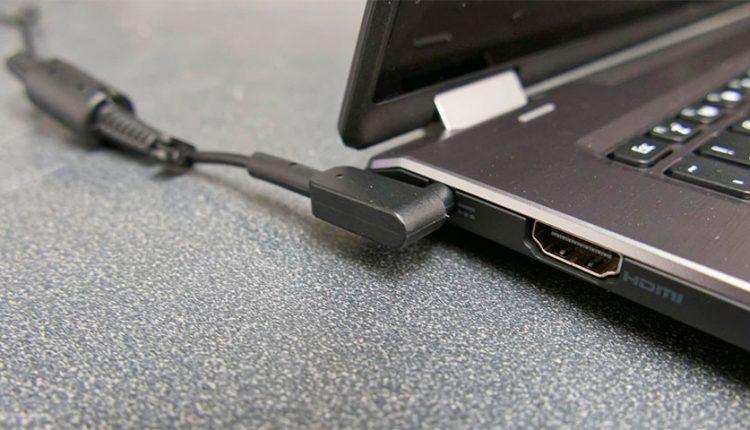 لپتاپ ویندوز 10 به برق وصل میشود، اما شارژ نمیشود