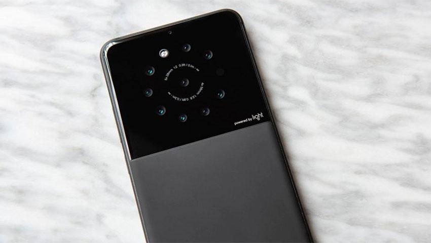گوشی هوشمندی با 9 لنز دوربین در پشت بدنه