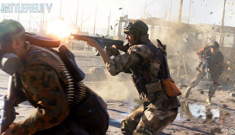 انتشار تریلر بخش بتل رویال Battlefield V