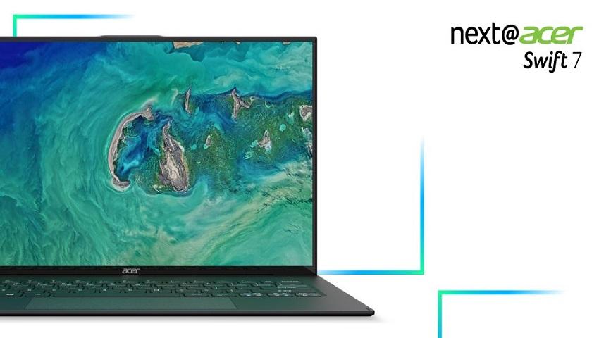 ایسر Swift 7 جدید باریکترین لپتاپ جهان معرفی شد