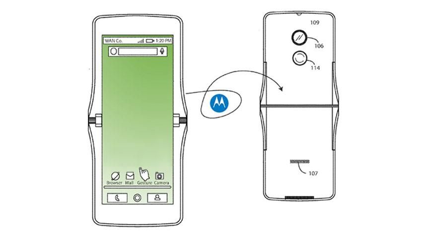 موتورولا هم در حال کار بر روی یک گوشی انعطافپذیر است؟!