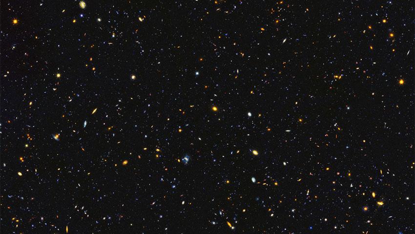 ثبت تصویری شامل 15000 کهکشان توسط تلسکوپ فضایی هابل!