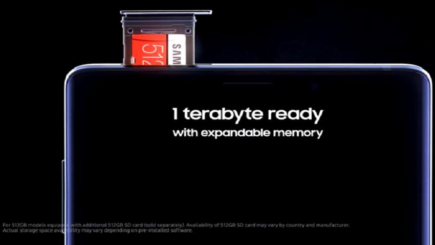 Note 9 will be a terabyte phone 512GB version wont be exclusive to Korea.jpg - گلکسی نوت 9 با حافظه ذخیره سازی 1 ترابایتی عرضه میشود!